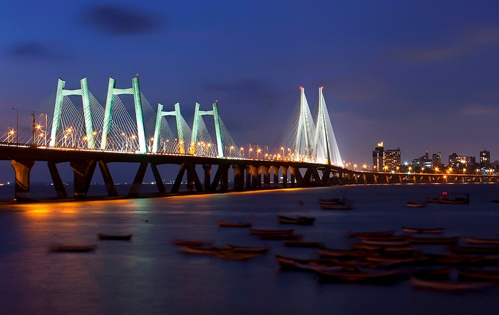 Bandra-Worli Sea Link, Mumbai - India