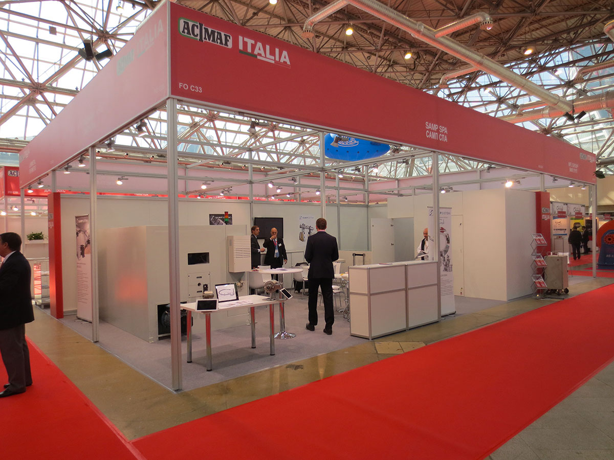 ITALIA PAVILION AT WIRE MOSCA