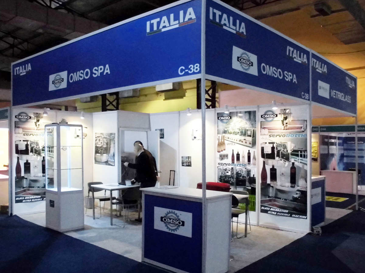 ITALIA PAVILION AT GLASSPEX INDIA