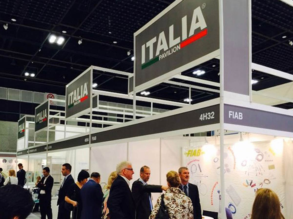 ITALIA PAVILION AT MEDICAL FAIR ASIA