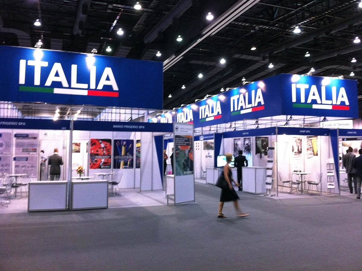 ITALIA PAVILION AT WIRE SOUTHEAST ASIA