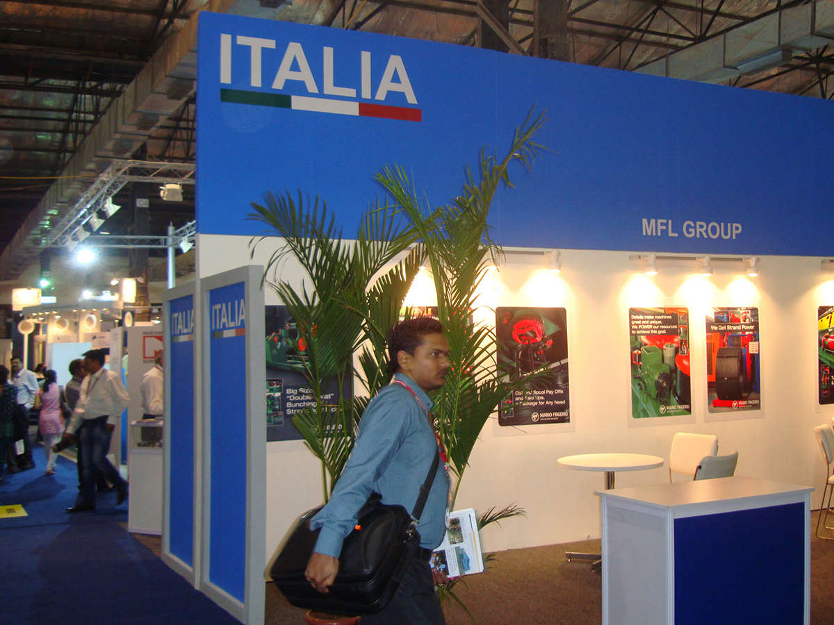 ITALIA PAVILION AT WIRE & CABLE INDIA