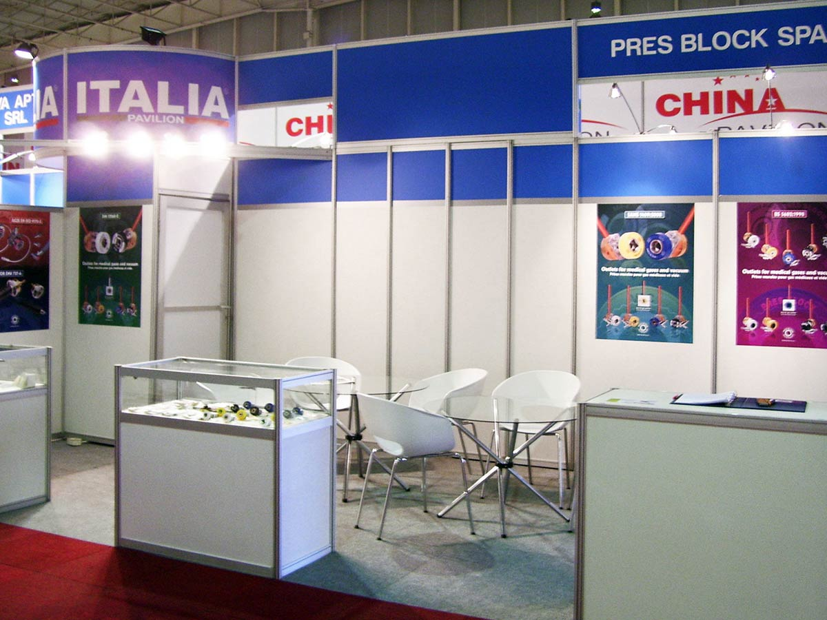ITALIA PAVILION AT AFRICA HEALTH