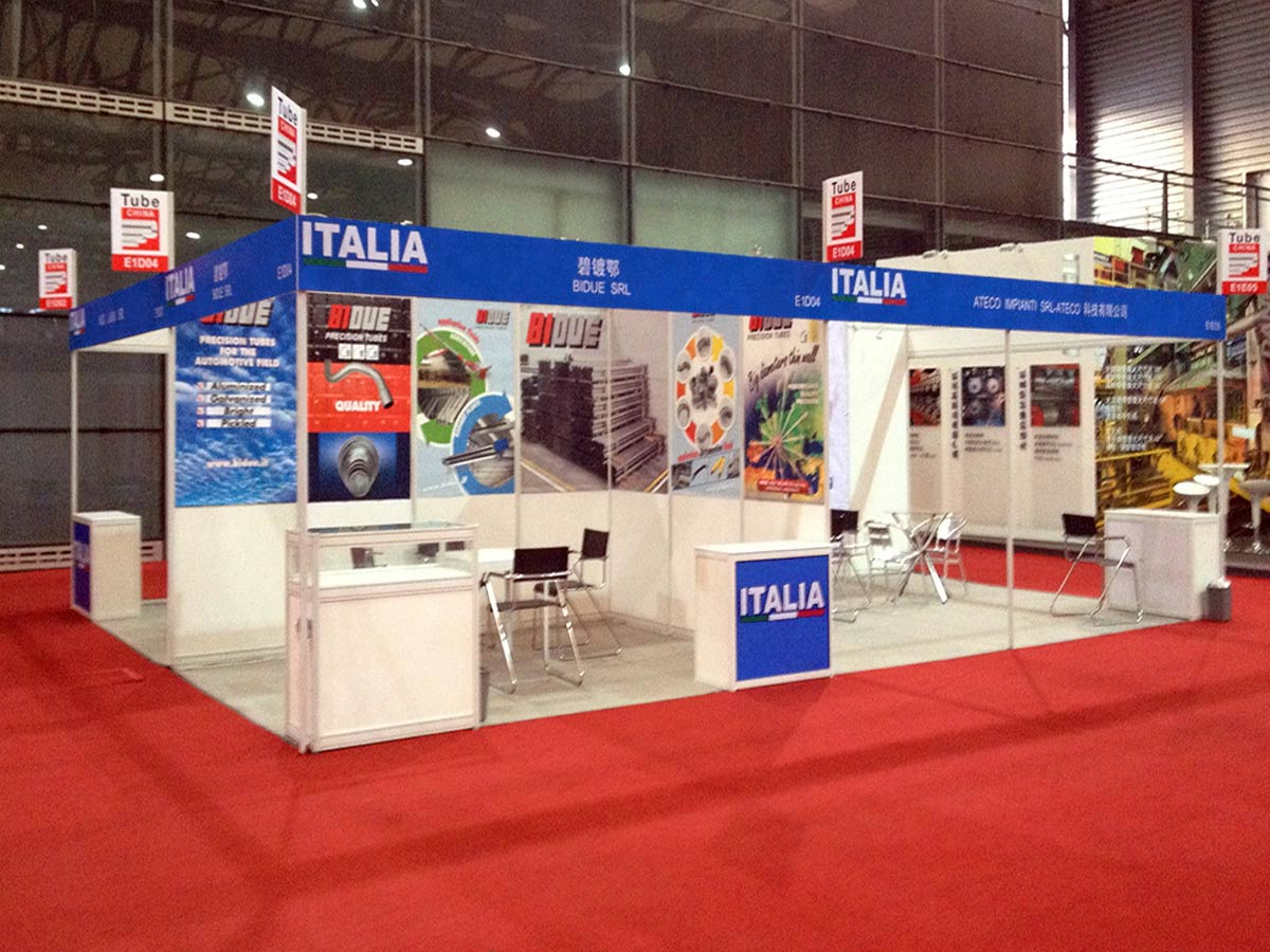 ITALIA PAVILION AT WIRE CHINA